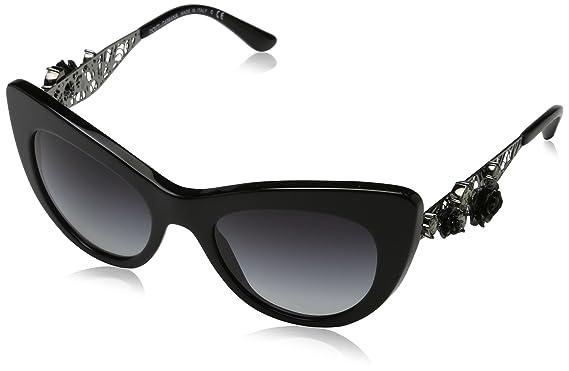Dolce   Gabbana 0DG4302B 501 8G 50, Montures de Lunettes Femme, Noir ... cf0a6fd6cc13