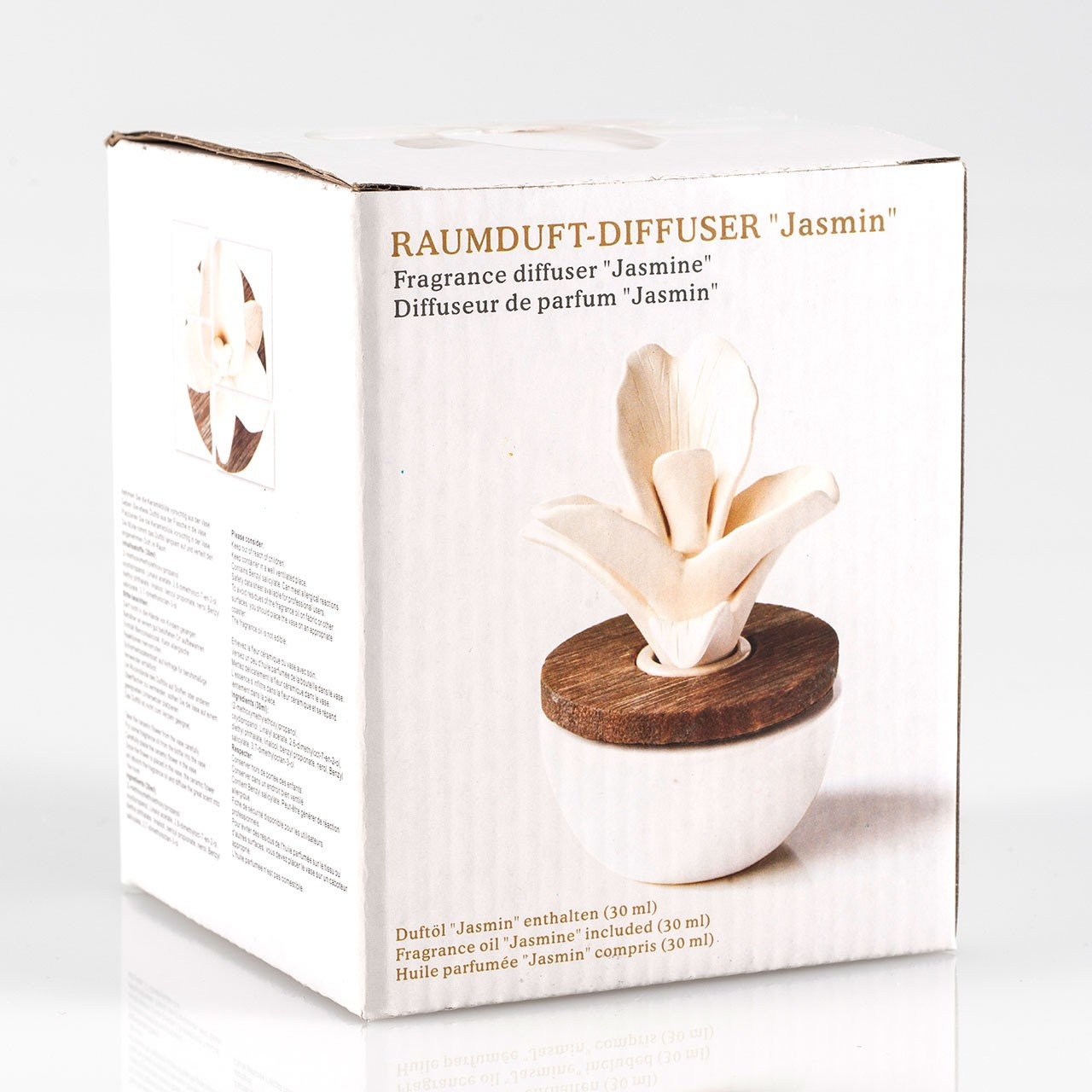 Pajoma Raumduft Jasmin Mit Keramikblüte: Amazon.de: Küche U0026 Haushalt