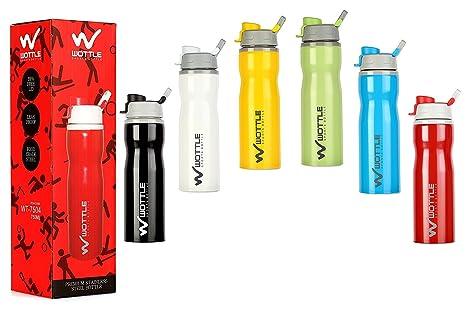 Buy Water Bottle 7504 Multi Color Korean Gloss Finish Trendy Bottle