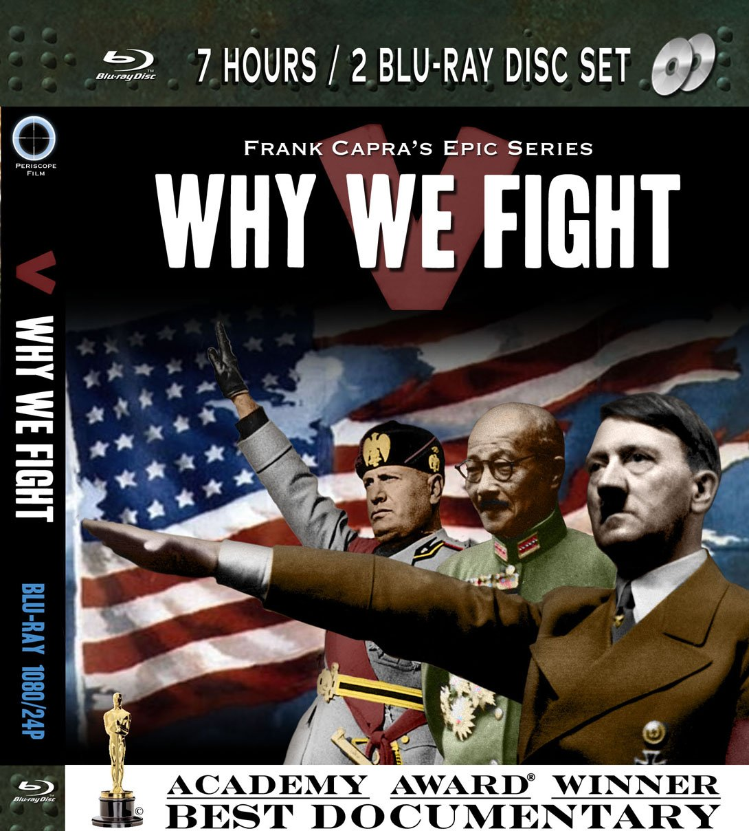 WHY WE FIGHT Frank Capra's Epic Documentary Series 2 Blu-Ray Disc Set