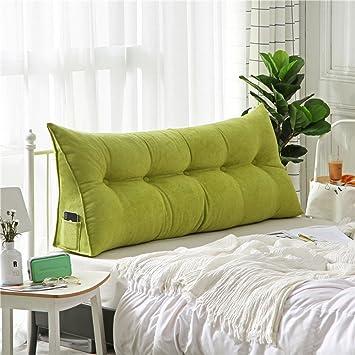Amazonde Polstermöbel Dreieckiger Keil Kissen Sofa Bett Kissen