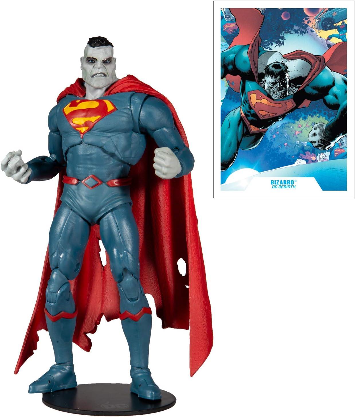 DC Rebirth 7 Action Figure DC Multiverse Superman Bizarro