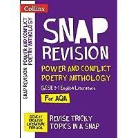 Power & Conflict Poetry Anthology: New GCSE Grade 9-1 AQA English Literature: GCSE Grade 9-1 (Collins GCSE 9-1 Snap Revision)