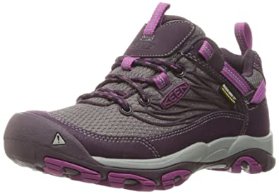 KEEN Women's Saltzman Waterproof Shoe, Plum/Purple Wine, ...