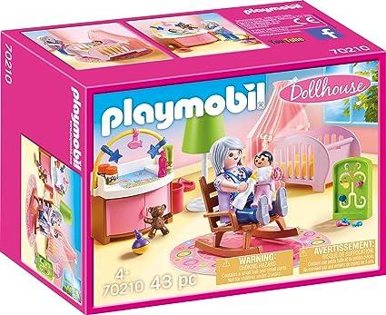 Amazon.com: Playmobil 70210 - Juguete de casa de muñecas ...