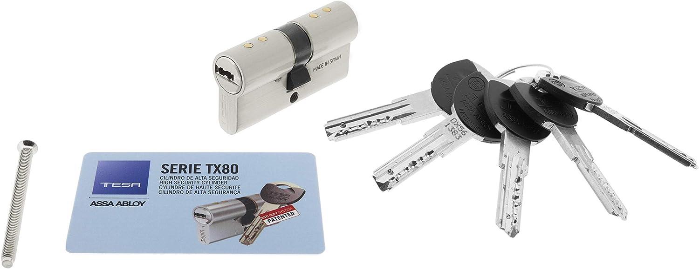 Tesa TX853030N TES.2030/30X30 LN TX80 SE5 E12, Niquelado, 30 x 30 mm