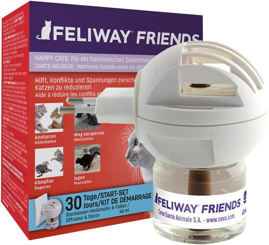 Feliway Difusor de feromonas para gatos Friends 48 ml 066809