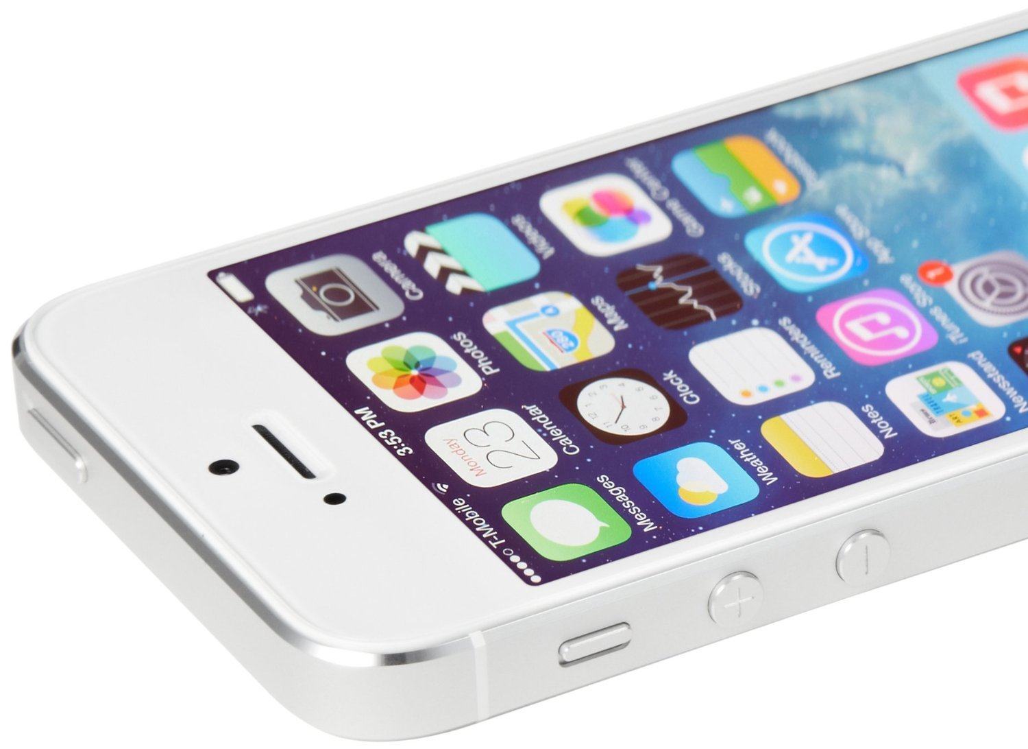Apple iPhone 5S 16GB GSM Unlocked, Silver (Certified Refurbished) by Apple (Image #3)