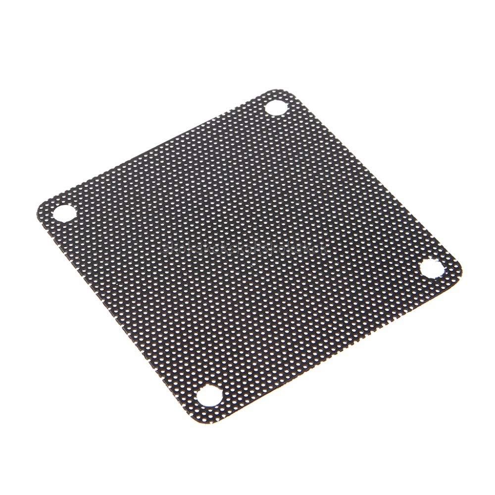 5PCS PVC Fan Dust Filter PC Dustproof Case Cuttable Computer Mesh Cover 60mm Mesh Black Mr29 19 V2AMZ
