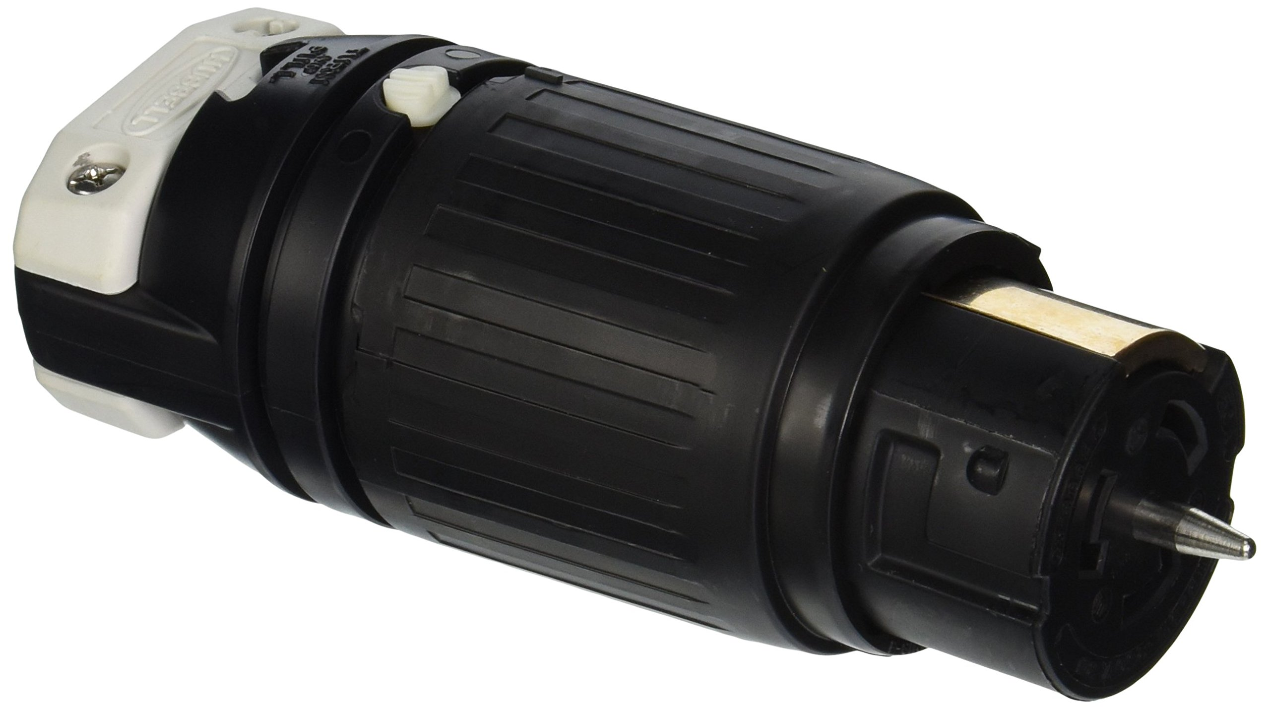 Hubbell CS8364C Locking Connector, 50 amp, 3 Phase 250V, 3 Pole 4 Wire