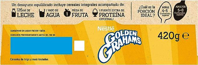 Cereales Nestlé Golden Grahams - 1 paquete de 420 g: Amazon ...