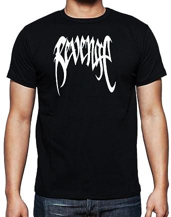 XXXTENTACION Revenge T-shirt by MYOS - Black -: Amazon co uk
