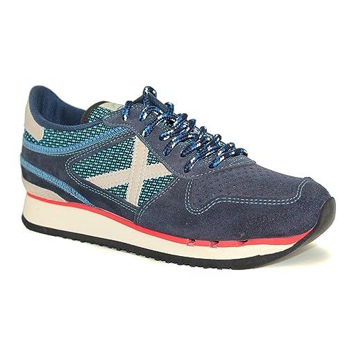 Zapatillas Munich Nou Munich 25 - Color - AZUL, Talla - 41: Amazon.es: Zapatos y complementos