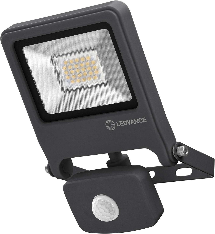 LEDVANCE Endura Flood LED Projecteur Ext/érieur 30 Watts Gris fonc/é Blanc Froid 4000K Etanche IP65 2700 Lumens