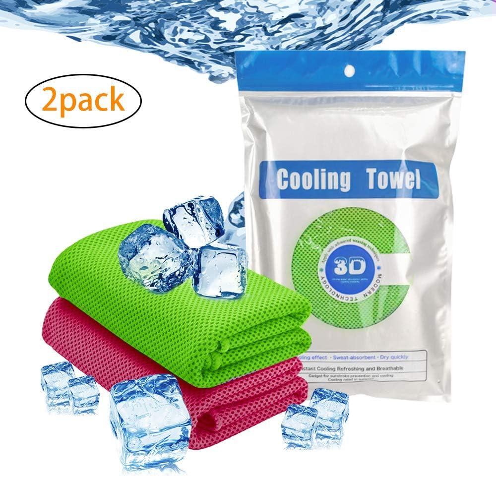 SUNTATOP Toalla de Refrigeración, Uso como Refrigeración para el ...