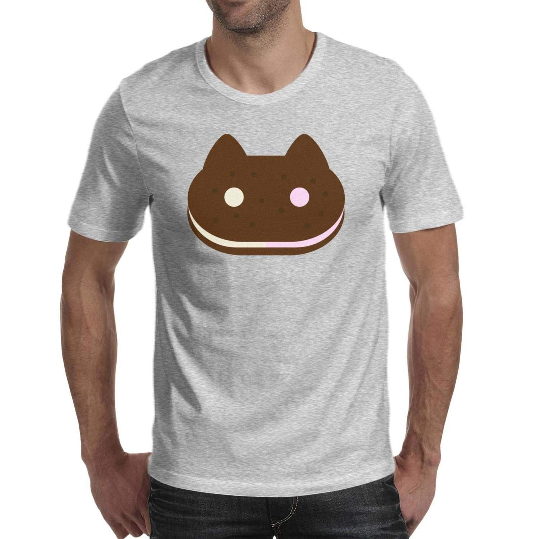 Steven Universe Cookie Cat Sandwich T Shirt Comfortable Running O Neck Short Sleeve T Shi