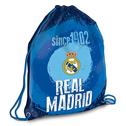 Amazon.com: Bolsa de gimnasio Real Madrid KL: Sports & Outdoors