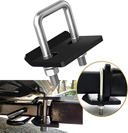 Corrosion Resistant Heavy-Duty Lock Down Tow Clamp Easy Installation Bentolin Anti-Rattle Stabilizer Hitch Tightener for 1.25 and 2 Hitches