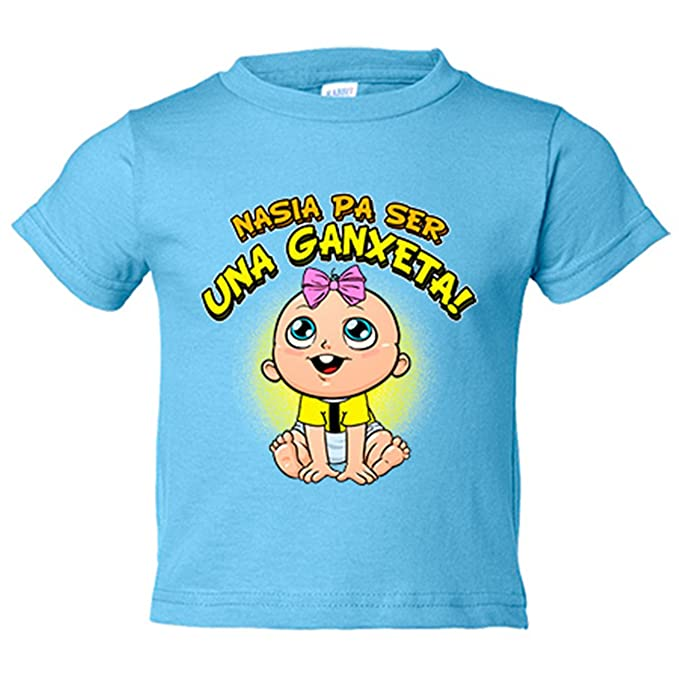 Camiseta niño nacida para ser una Ganxeta Reus fútbol ...
