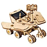 ROBOTIME DIY Assemble Toy Set Solar Power Toy DIY Car 3D Model Building Puzzle Scholastic Educational Kit Great STEM Project Surprising Birthday & Christmas Gifts for Boys and Girls(Spirit Rover) (Color: Spirit Rover)