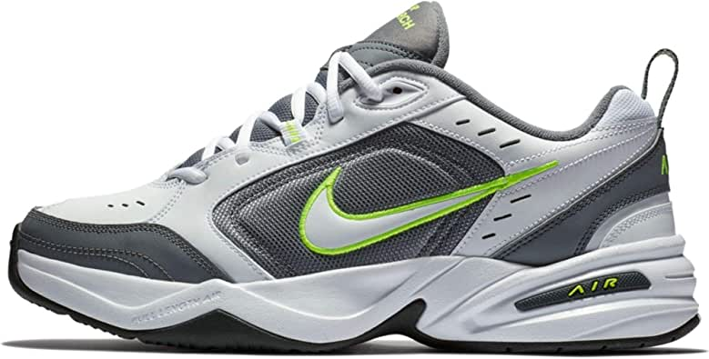 Nike Air Monarch IV, Zapatillas de Gimnasia para Hombre, Blanco (White/White/Cool Grey/Volt/Anthracite 100), 49 1/2 EU: Amazon.es: Zapatos y complementos