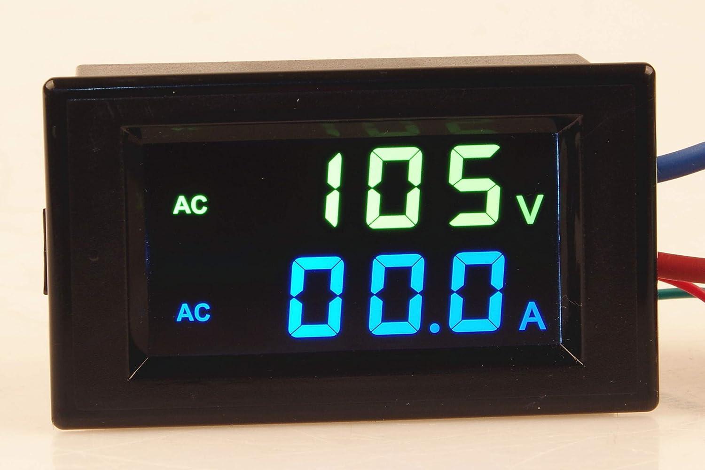 Current Transformer 110v 220v Voltage Current TOFKE AC 80~300V 200A Voltmeter Ammeter Digital LCD Display Module Combo Meter