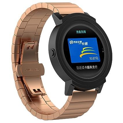 XIHAMA Correa para Smartwatch de 20mm, Bracelet Recambio de Acero ...