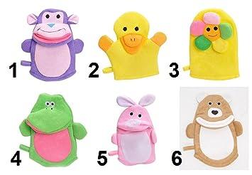 Modulit - Lot de 2 petits gants de toilette d apprentissage pour bébé   enfant ... 2ff632e7271