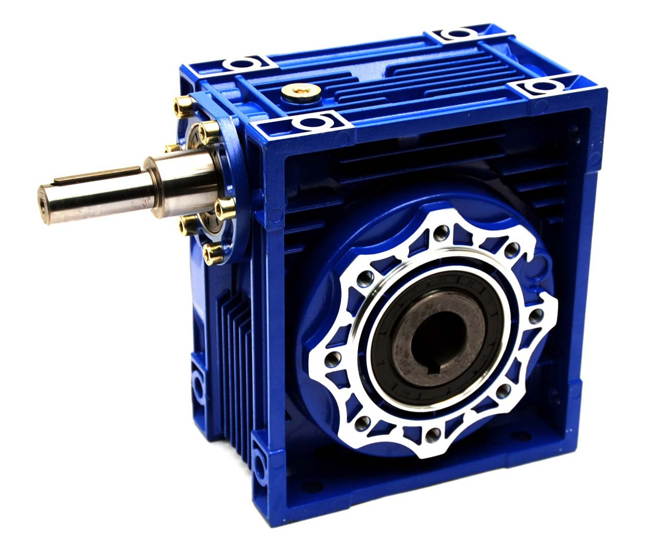 Lexar Industrial RV050 Worm Gear 100:1 Coupled Input Speed Reducer