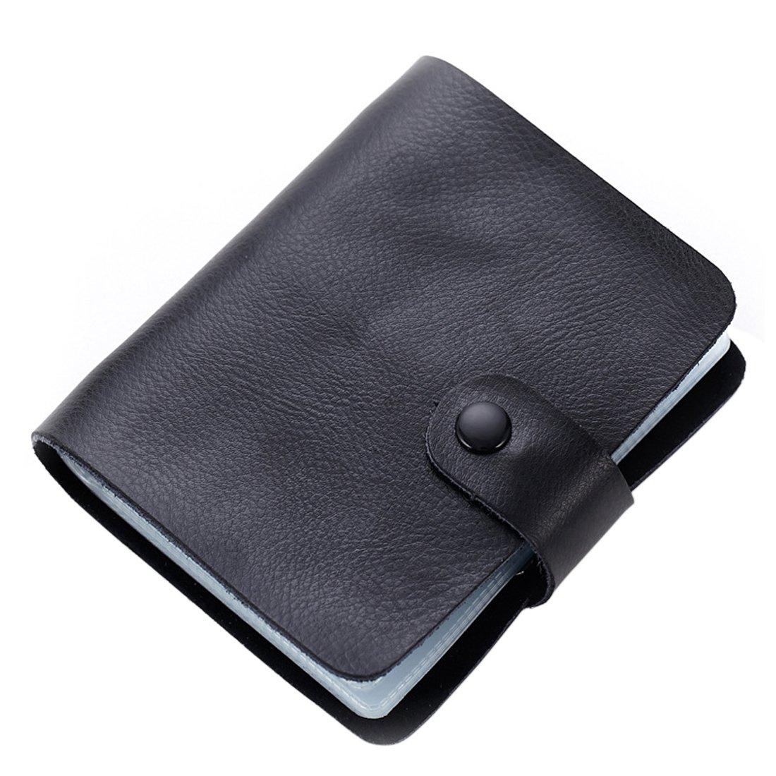 outlet Boshiho Genuine Leather Credit Card Holder Business Card ...