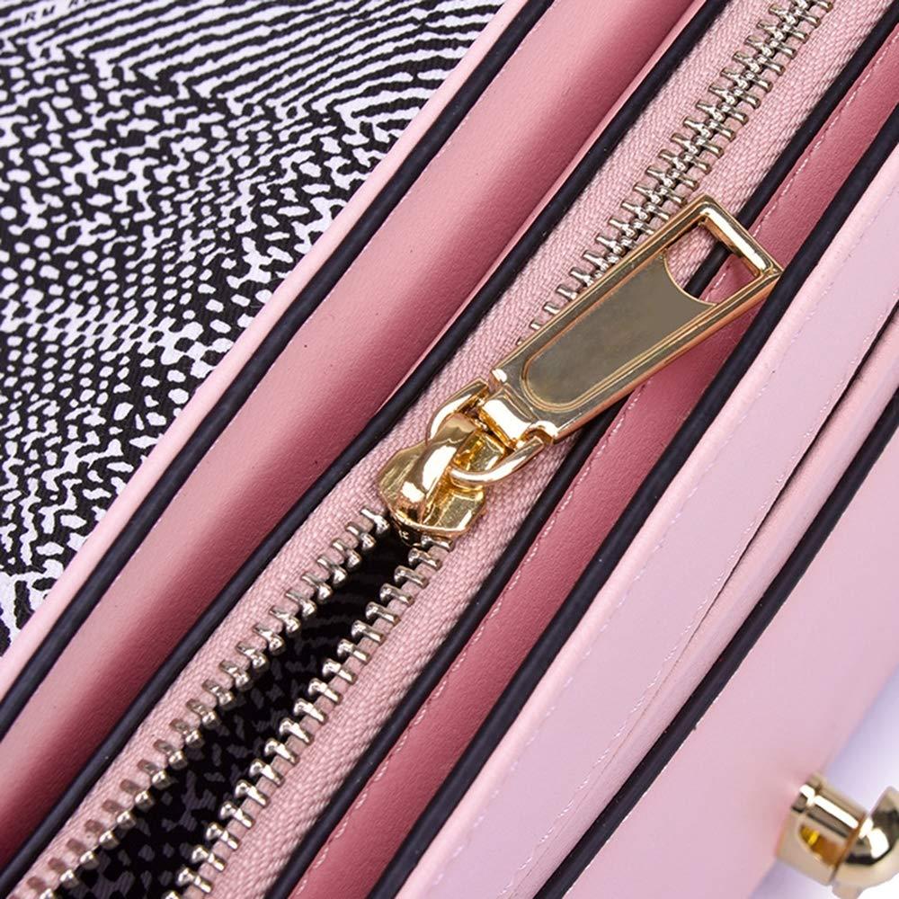 MIMI KING liten handväska dam axelväska mode mini fyrkantig handväska äkta läder crossbody väska Svart