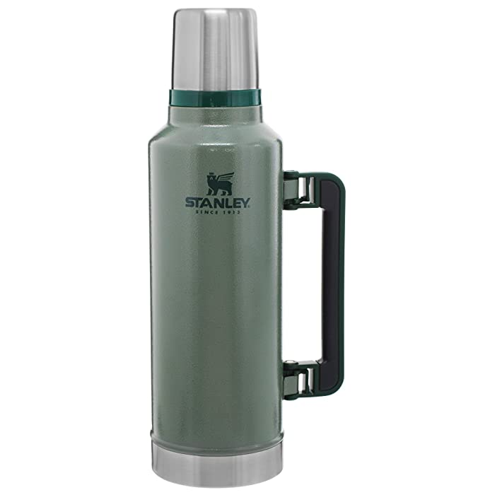 The Best Stanley Classic Vacuum Bottle 2Qt Hammertone Green