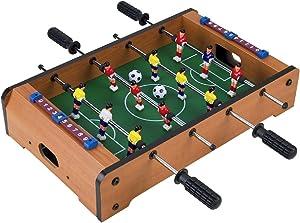 "Homeware Wooden Classic Mini Table Top Foosball (Soccer) Game Set - 20"""