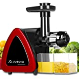 Aobosi Slow Masticating juicer Extractor, Cold Press Juicer Machine, Quiet Motor, Reverse Function, High Nutrient Fruit…
