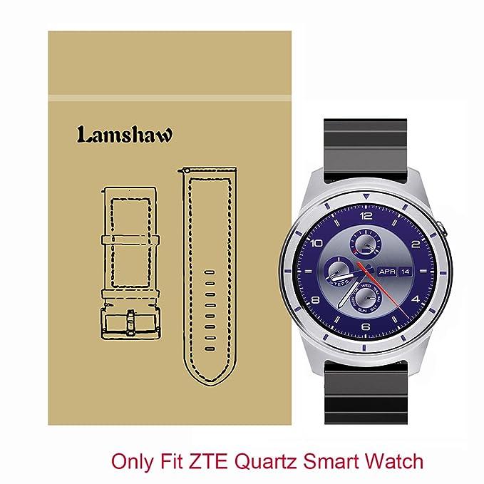 Amazon.com: Lamshaw Smart Watch Band for ZTE Quartz, Solid ...