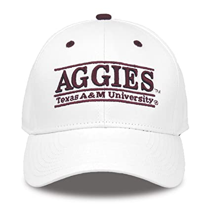 f6cae66ac05 Amazon.com   NCAA Texas A M Aggies Nickname Bar Design Hat ...