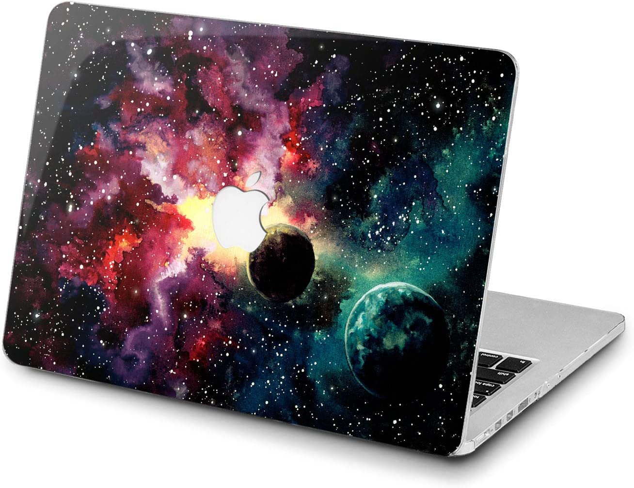 Lex Altern Hard Case for Apple MacBook Pro 15 Air 13 inch Mac Retina 12 11 2020 2019 2018 2017 2016 Paint Design Dust Watercolor Fantasy Galaxy Laptop Touch Bar Print Cover Planets Stars Shell Art