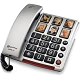 Amplicomms BigTel 40 Plus Amplified Big Button Telephone with Programmable Photo Buttons