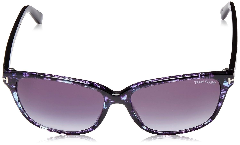 60cffce170a Amazon.com  Tom Ford TF432 55W Sunglasses Dana Blue Gradient  Clothing