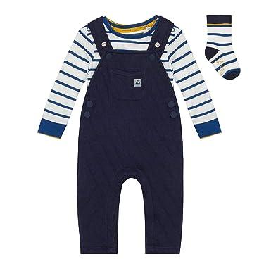 83fdb98a3 J by Jasper Conran Kids Babies  Navy Striped Dungarees