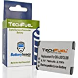 Sanyo Xacti VPC-CG10 Camcorder Replacement Battery - TechFuel Professional DB-L80 Battery