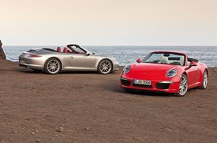 Classic y los músculos de los coches y Porsche 911 Carrera coche del póster en 10