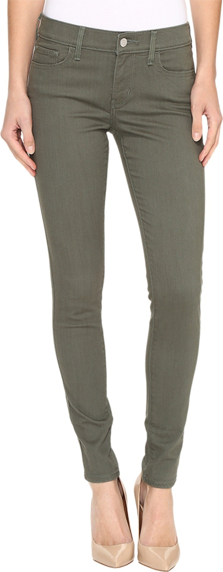 Levi's? Womens Women's 710 Super Skinny Refined Thyme Jeans