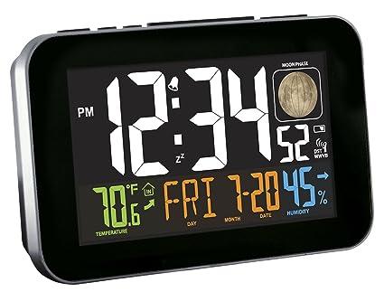 La Crosse Technology Multi Color Atomic Alarm Clock