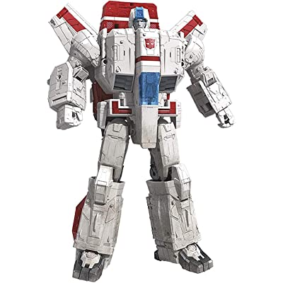 "Transformers Toys Generations War for Cybertron Commander Wfc-S28 Jetfire Action Figure - Siege Chapter - Adults & Kids Ages 8 & Up, 11"": Toys & Games"