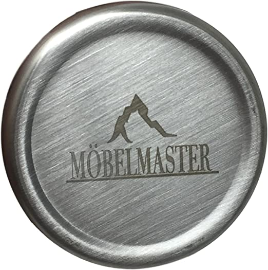 Amazon.com: Möbelmaster - Vaso de acero inoxidable 18/8 con ...