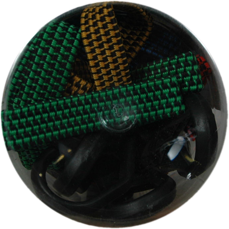 Highland 10-Piece Fat Strap Bungee Cord Assortment BLK:11642 1164200