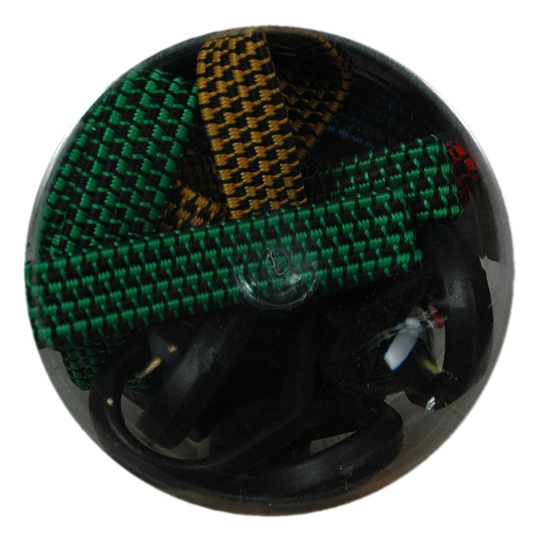 1164200 10-Piece Fat Strap Bungee Cord Assortment BLK:11642 Highland