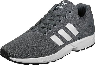 7ca1a2fa35 adidas ZX Flux, Chaussures de Fitness Homme, Multicolore-Gris/Blanc/Noir