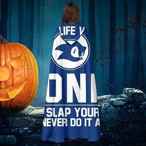 AISFGBJ Imagine Life Without Sonic Now Slap Yourself - Disfraz de ...